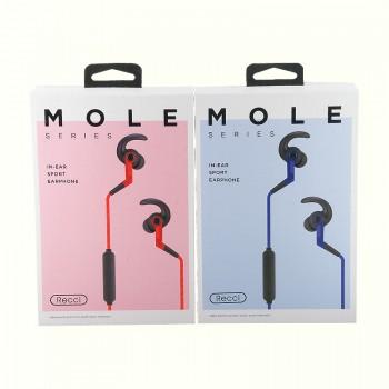 Bluetooth наушники Recci Mole REB-H01