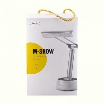 Настольная лампа с стерео колонкой Recci M-Show RBS-C1