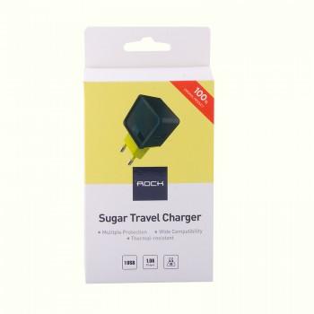 СЗУ с USB выходом Rock Sugar Travel Charger (1-Port)