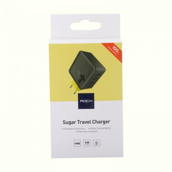 СЗУ с 4-мя USB выходами Rock Sugar Travel Charger (4-Port)
