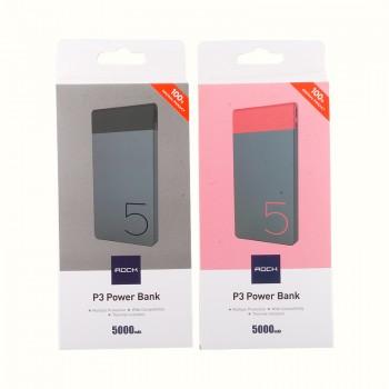 Дополнительный аккумулятор Power Bank Rock P3 5000mAh