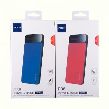 Дополнительный аккумулятор Power Bank Rock P38 with Digital Display