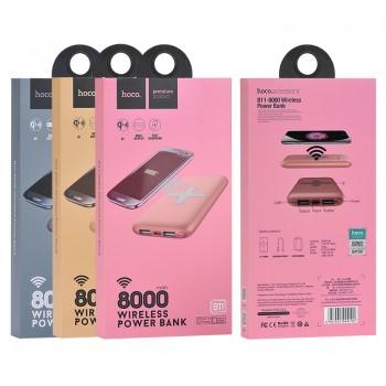 Дополнительный аккумулятор HOCO B11 Wireless Portable Charger 8000mAh